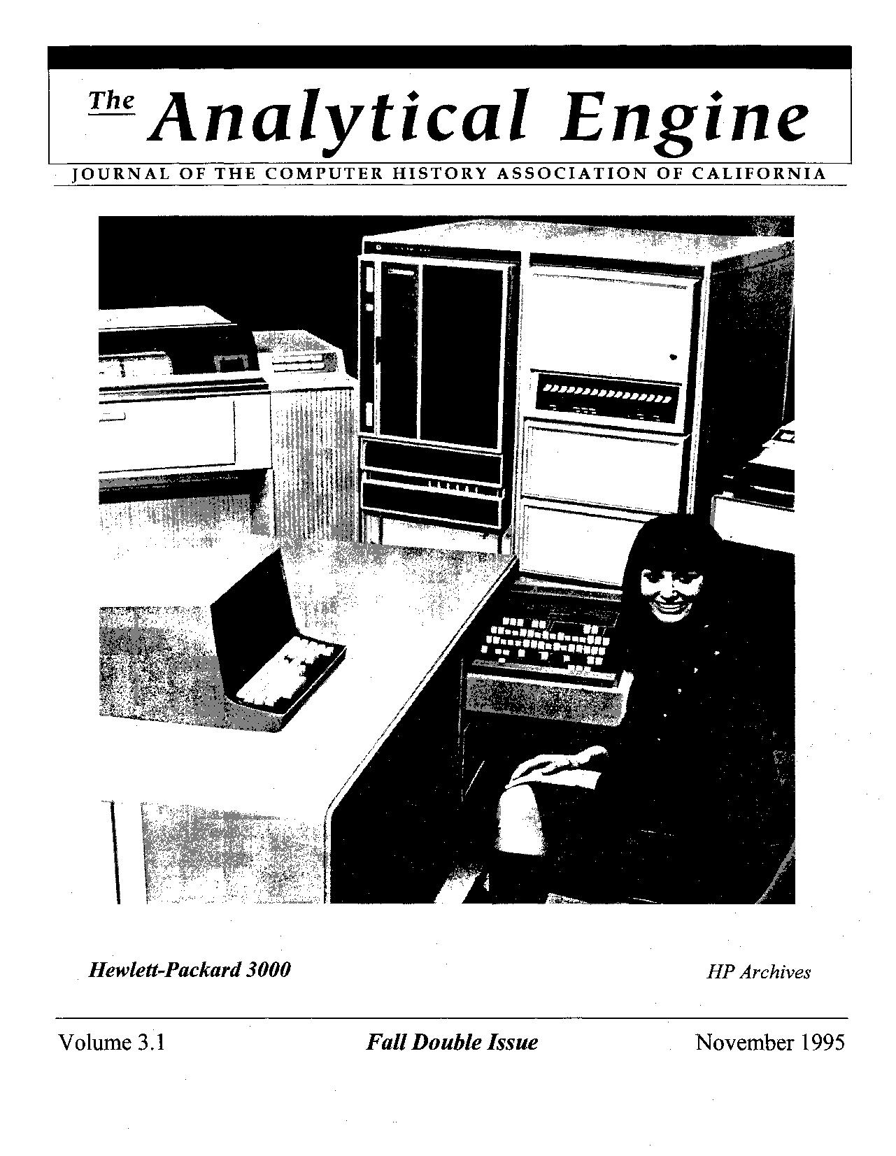 Early History of the HP3000